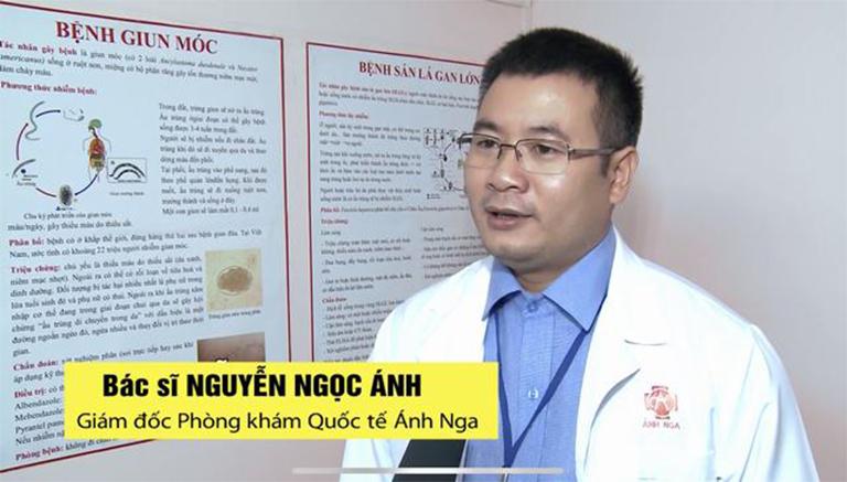 Bác sĩ Nguyễn Ngọc Ánh - Gíam đốc Phòng khám Quốc tế Ánh Nga