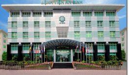 Bệnh viện An Sinh có tổng diện tích gần 10.000m2