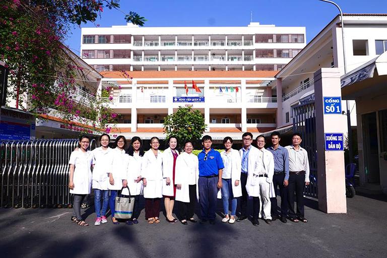 Đội ngũ bác sĩ tại Bệnh viện Quận 11
