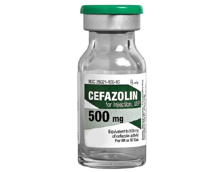 Thuốc Cefazolin dạng dung dịch tiêm 500mg
