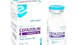 Thuốc Cefazolin dạng bột tiêm 1g