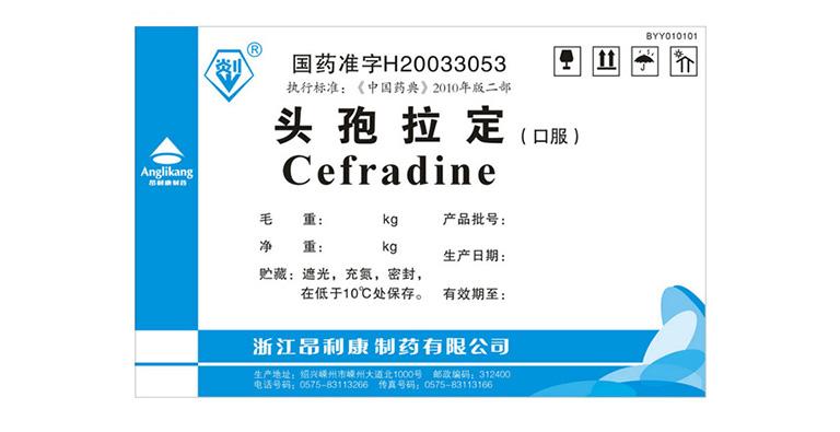 Thuốc cefradin