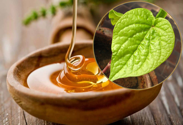 Chữa viêm phế quản bằng lá trầu không và mật ong