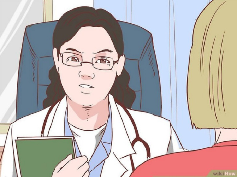 Khi phát hiện những dấu hiệu của bệnh bạn nên đến bác sĩ để thăm khám