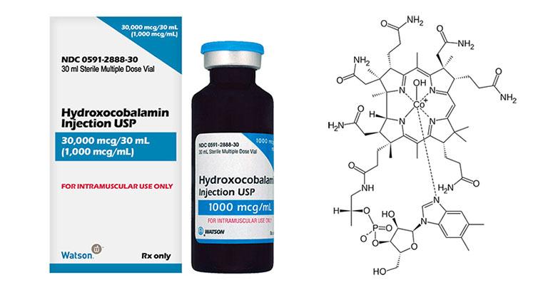 thuốc hydroxocobalamin