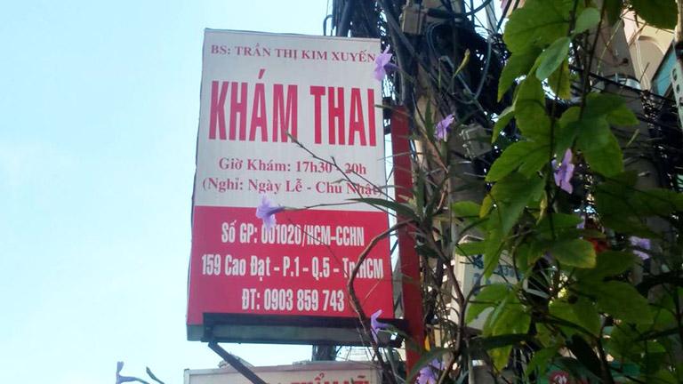Phòng khám ThS BS Trần Thị Kim Xuyến