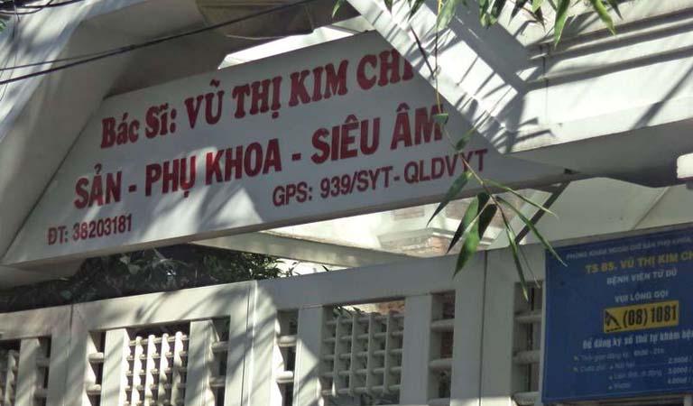 Phòng khám TS.BS Vũ Thị Kim Chi