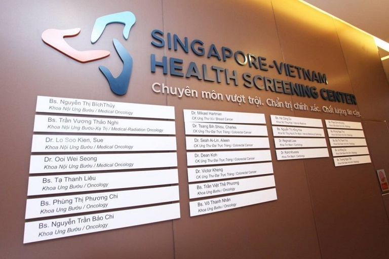 Phòng khám ung bướu Singapore - Việt Nam
