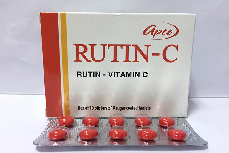 thuốc rutin c complex