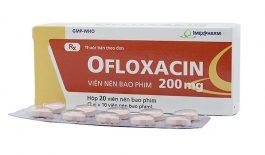 Ofloxacin 200mg là thuốc gì?