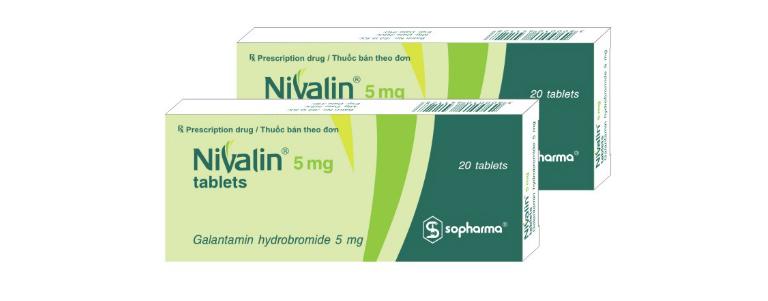 Thuốc điều trị suy giảm trí nhớ Nivalin được bào chế ở dạng dung dịch tiêm và viên nén.