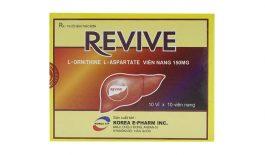 Thuốc Revive điều trị bệnh gan nhiễm mỡ, viêm gan cấp & mãn tính, viêm gan do bia rượu,...