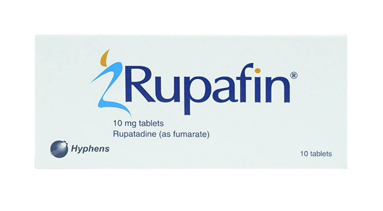 Thuốc điều trị mề đay, viêm mũi Rupafin thích hợp dùng ở bệnh nhân từ 12 tuổi trở lên. Người bệnh dùng thuốc theo chỉ định của bác sĩ.