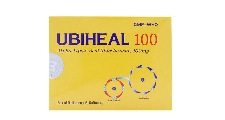 Thuốc Ubiheal có tác dụng giải độc gan, làm đẹp da, điều trị bệnh viêm gan, Alzheimer, xơ vữa động mạch vành,...