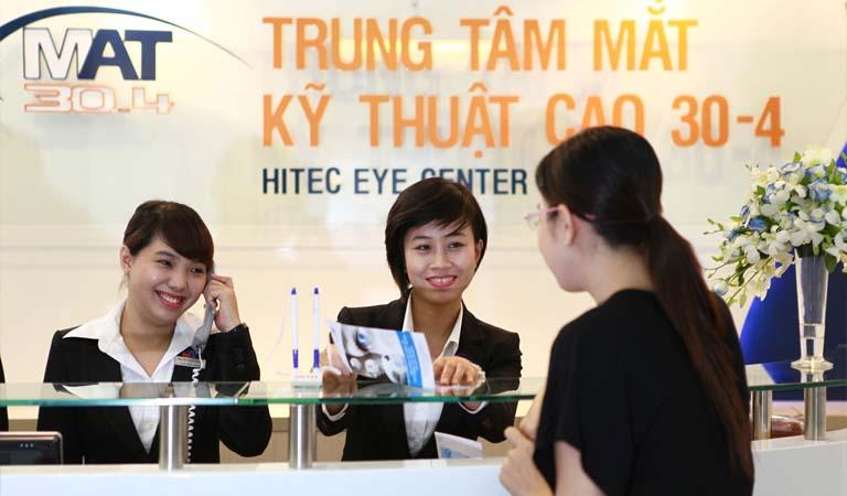 Trung tâm Mắt kỹ thuật cao 30-4 có tốt không