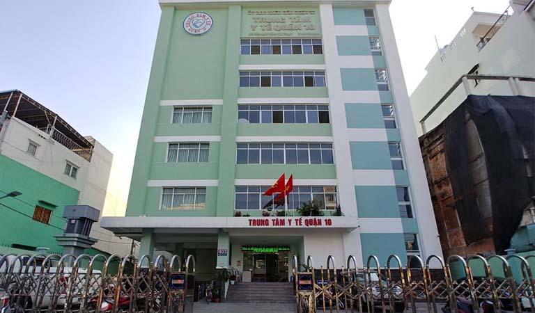 Trung tâm Y tế Dự phòng Quận 10