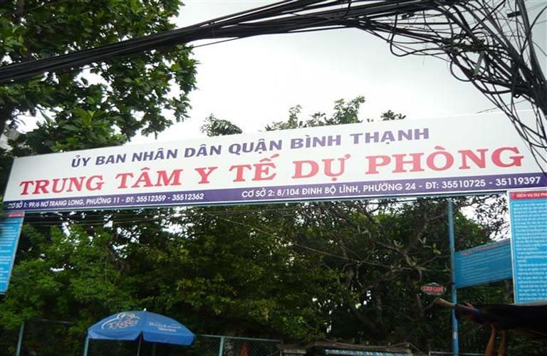 Trung tâm y tế dự phòng Quận Bình Thạnh