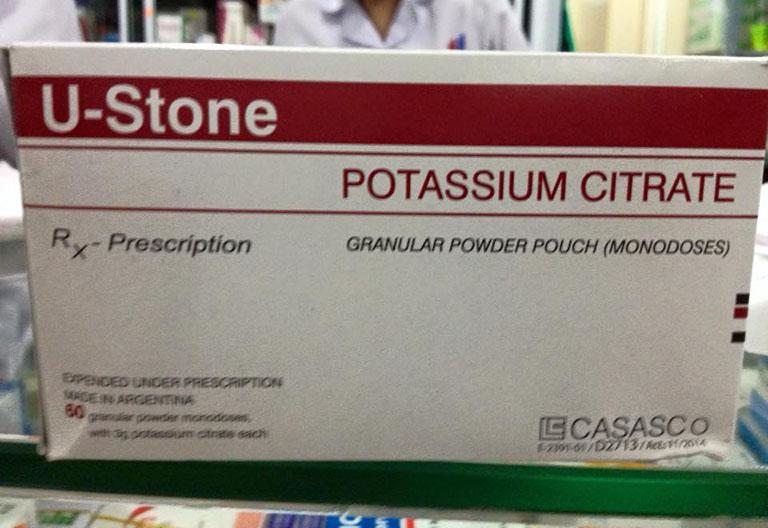 Thuốc U-stone potassium citrate