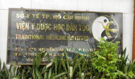 Viện Y dược học dân tộc Thành phố Hồ Chí Minh là nơi khám và điều trị bệnh uy tín.