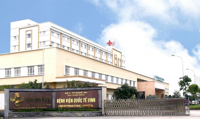 Bệnh viện Quốc tế Vinh là một trong những đơn vị uy tín tại Nghệ An có dịch vụ khám và điều trị bệnh trĩ.