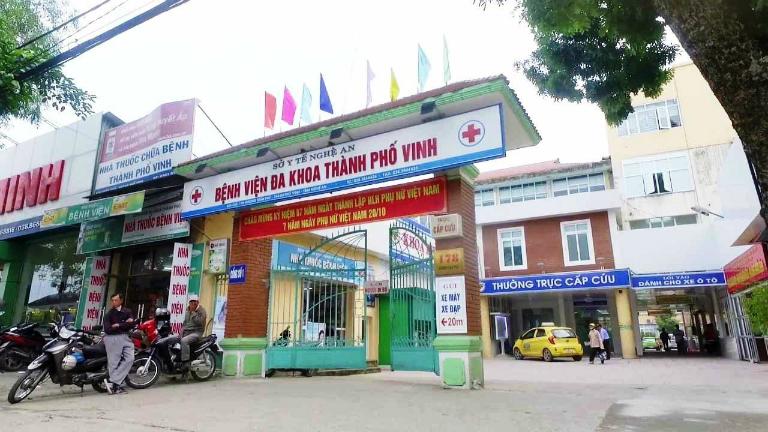 Bệnh viện Đa khoa Thành phố Vinh là bệnh viện uy tín tại Nghệ An có dịch vụ khám và điều trị bệnh trĩ.