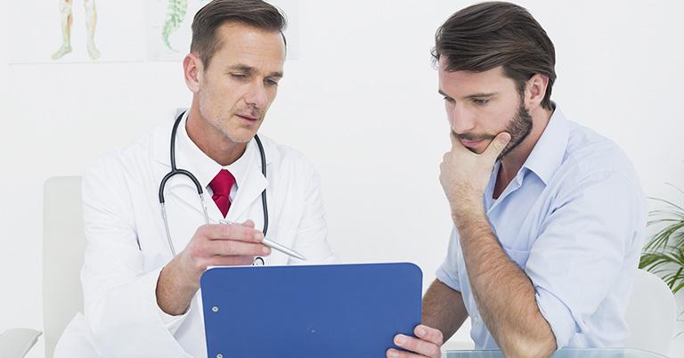 Nên đi khám để được điều trị sớm khi thấy có biểu hiện bất thường