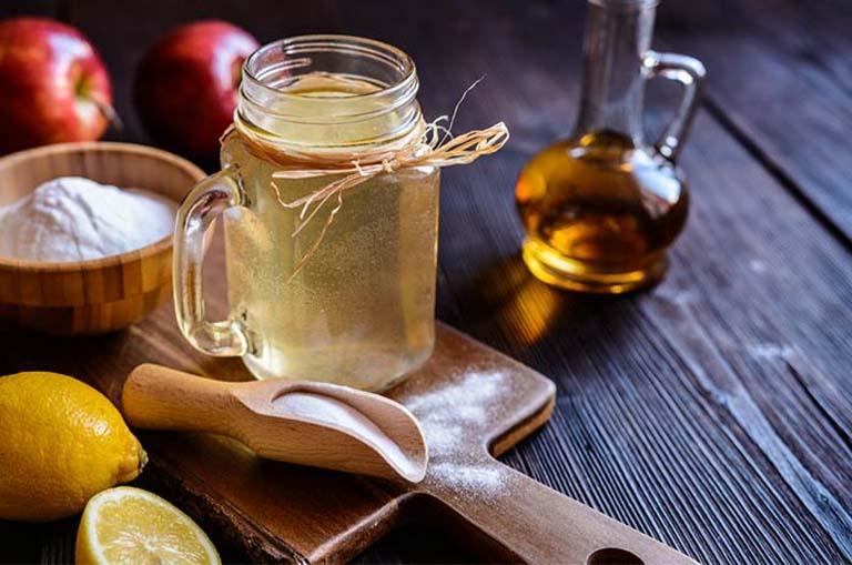 tác dụng trị viêm họng của giấm táo