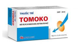 Thuốc trĩ Tomoko là thuốc có công dụng điều trị bệnh trĩ.
