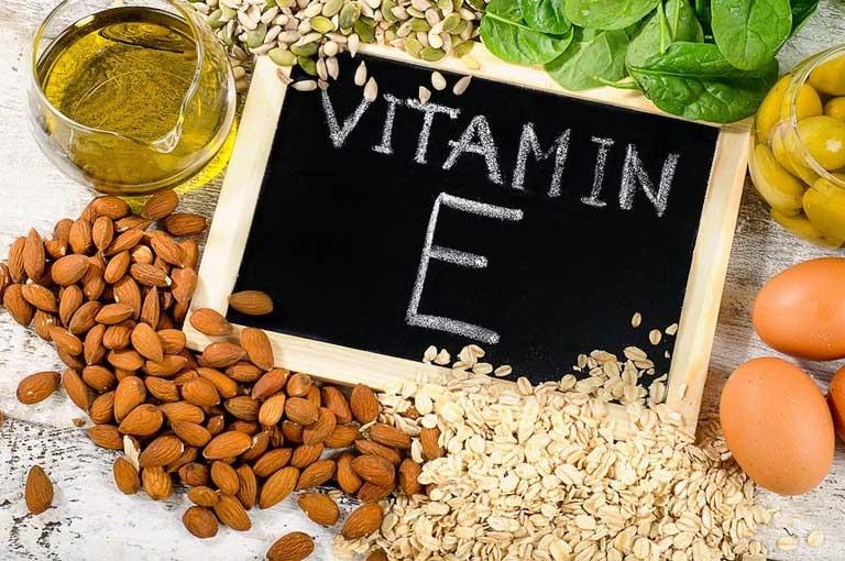 trị rạn da sau sinh bằng vitamin E