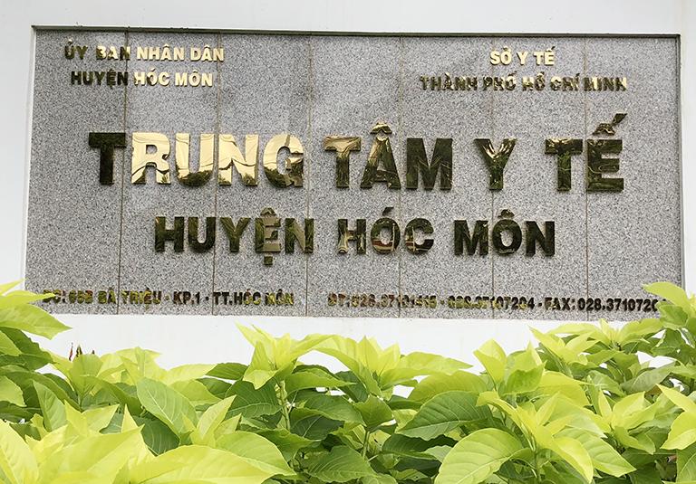 Giới thiệu về Trung tâm y tế dự phòng Huyện Hóc Môn