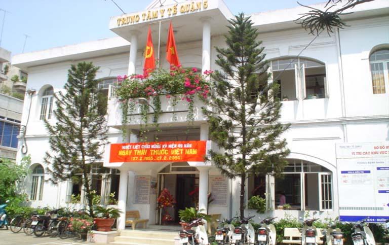 Trung tâm Y tế dự phòng quận 5