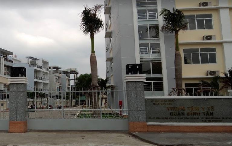 Trung tâm Y tế dự phòng quận Bình Tân