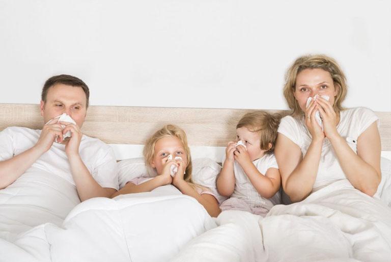 viêm mũi dị ứng có di truyền