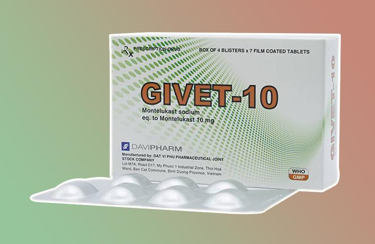 Thuốc Givet 10