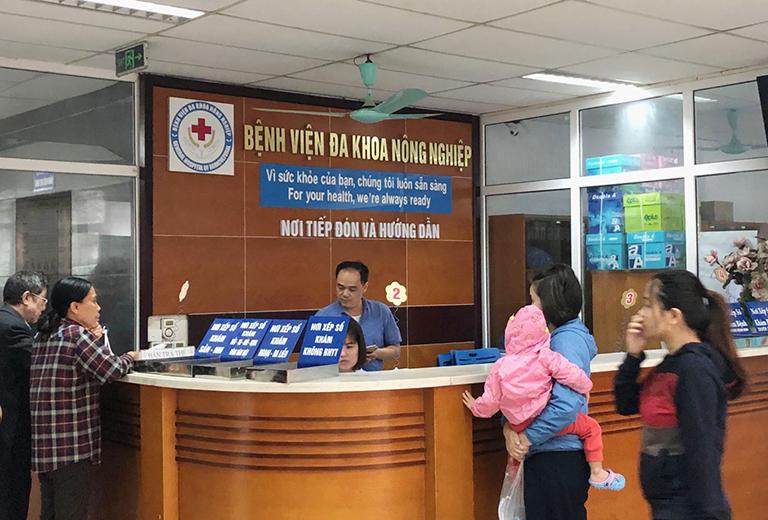 Quy trình thăm khám và điều trị tại Bệnh Viện Đa khoa Nông Nghiệp