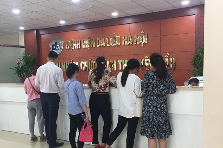 Quy trình khám chữa bệnh tại Bệnh viện Da liễu Hà Nội