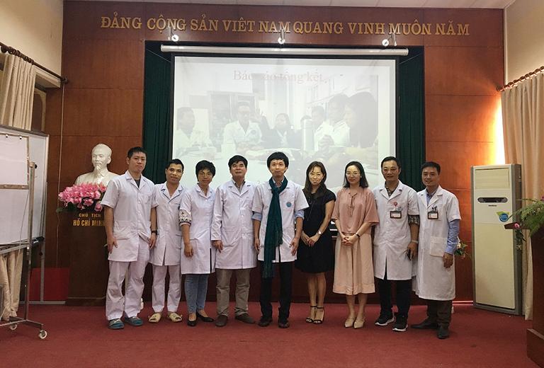 Đội ngũ bác sĩ tại Bệnh viện Phục hồi chức năng Hà Nội
