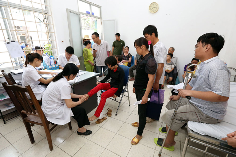 Chuyên khoa tại Bệnh viện Phục hồi chức năng Hà Nội