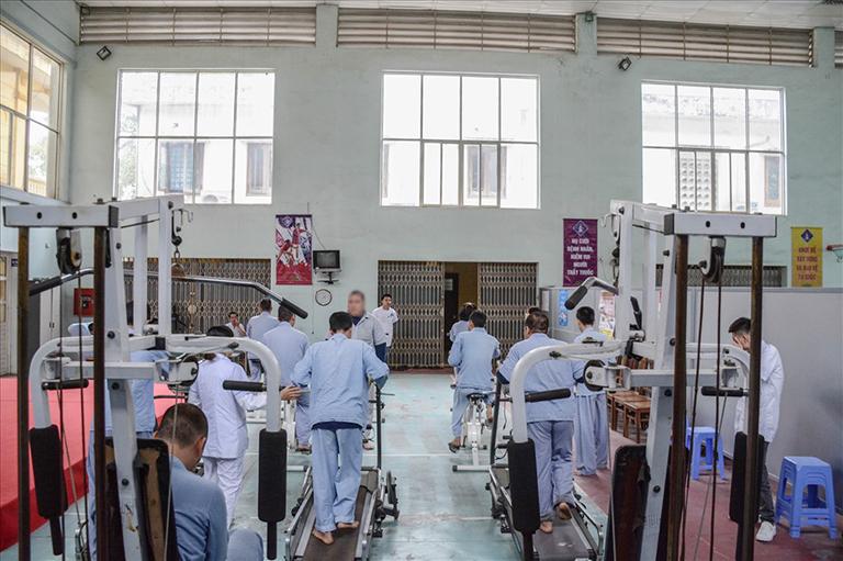 Cơ sở vật chất tại Bệnh viện Tâm thần Hà Nội