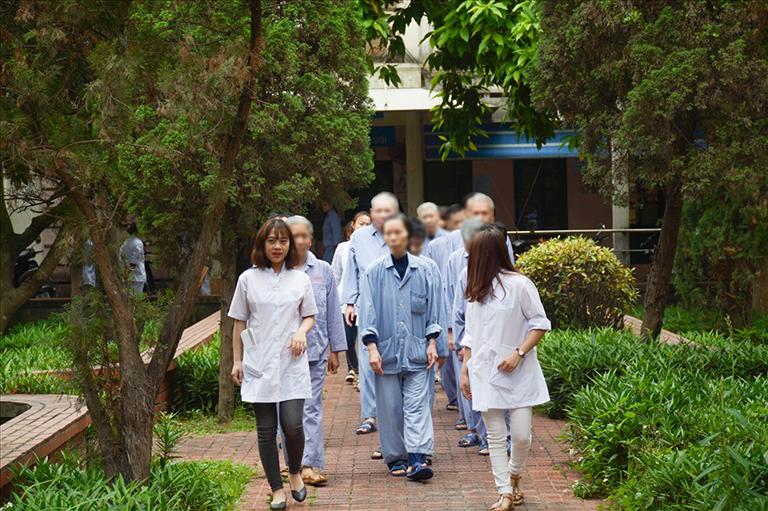 Quy trình thăm khám và điều trị tại Bệnh viện Tâm thần Hà Nội