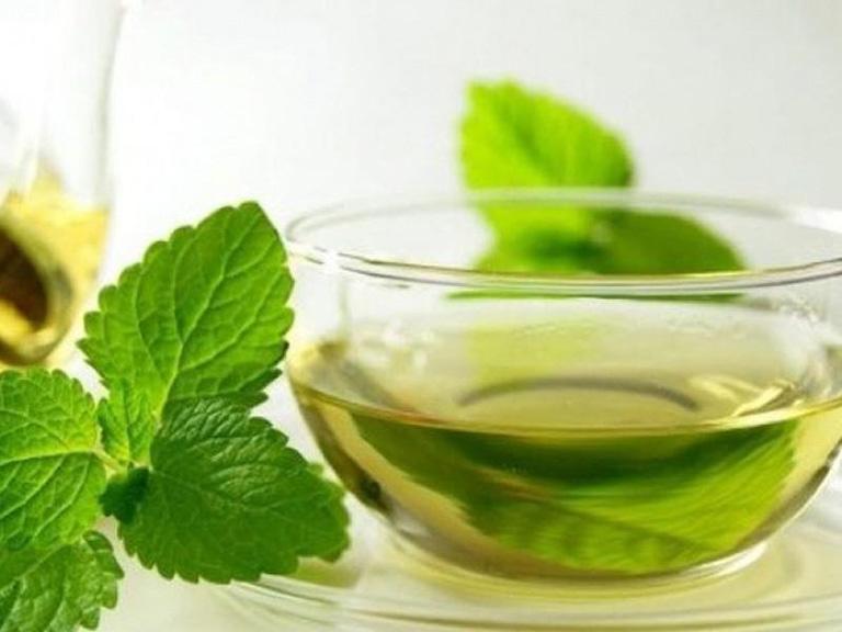 Uống trà kinh giới thường xuyên có thể làm giảm các cơn ho cho bệnh nhân
