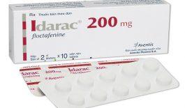 Tìm hiểu các thông tin về thuốc Idarac 200mg