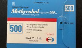 Thuốc Methycobal điều trị bệnh thần kinh ngoại biên, thiếu máu hồng cầu