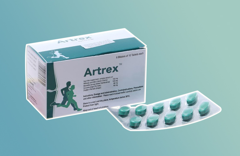 Công dụng của thuốc Artrex