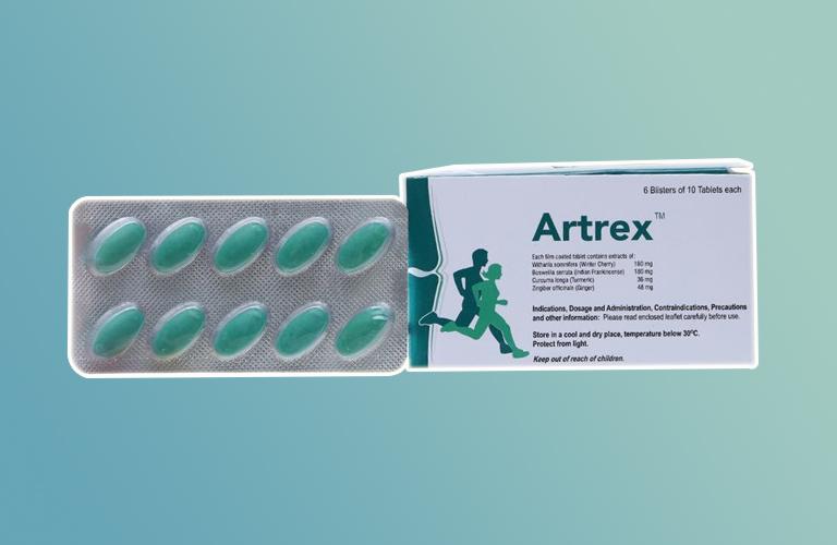Liều lượng và cách sử dụng thuốc Artrex