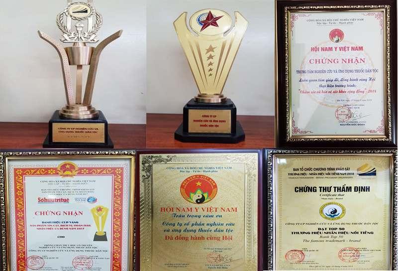 Trung tâm Thuốc dân tộc và những giải thưởng danh giá