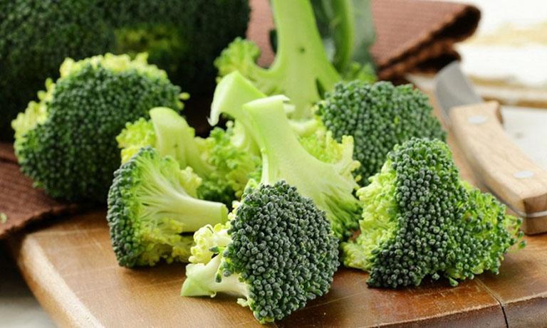 Súp lơ xanh - một trong những thực phẩm giúp tăng cường sinh lực cho đàn ông