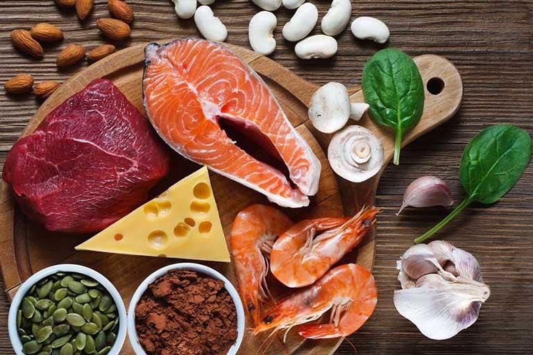 Một chế độ ăn uống lành mạnh sẽ giúp cải thiện chức năng sinh lý cho nam giới