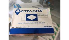 Thuốc Activ-GRA điều trị rối loạn cương dương ở nam giới