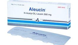 Thuốc Aleucin 500mg điều trị tình trạng chóng mặt